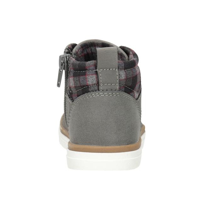 Dziecięce buty za kostkę mini-b, szary, 291-2172 - 16