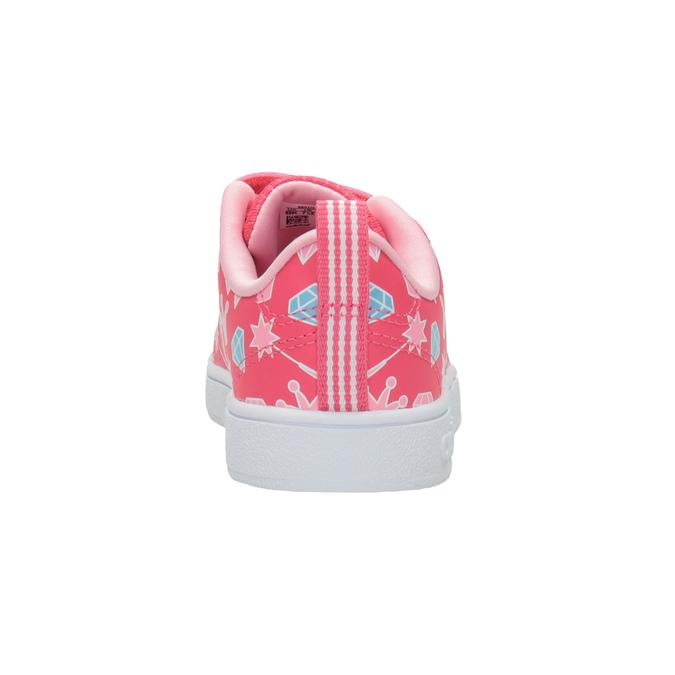 Dziewczęce trampki z nadrukiem adidas, różowy, 101-5533 - 16