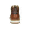 Brązowe skórzane obuwie męskie za kostkę bata, brązowy, 846-3645 - 15
