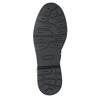 Dziecięce sznurowane buty ze skóry bullboxer, czarny, 496-6016 - 17