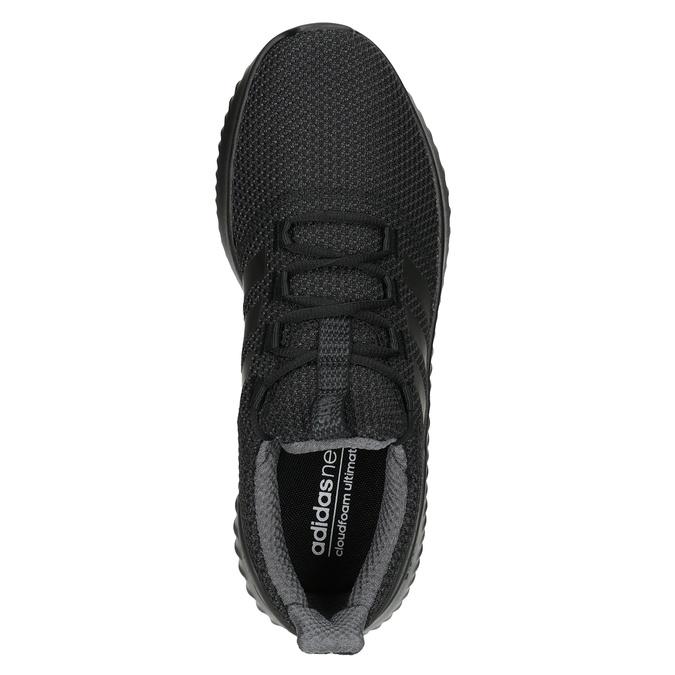 Czarne trampki męskie adidas, czarny, 809-6204 - 15