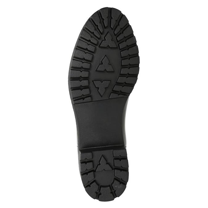 Lakierowane kalosze damskie bata, czarny, 592-6400 - 17