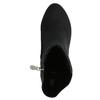 Botki na obcasach bata, czarny, 699-6636 - 26