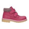 Różowe zimowe obuwie dziecięce weinbrenner-junior, różowy, 226-5200 - 26
