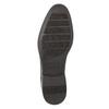 Brązowe skórzane półbuty typu angielki bata, brązowy, 824-4618 - 19