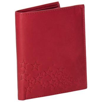 Skórzany portfel damski bata, czerwony, 944-5179 - 13