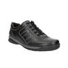 Skórzane trampki męskie bata, czarny, 824-6921 - 13