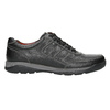 Skórzane trampki męskie bata, czarny, 824-6921 - 15
