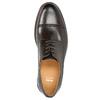 Brązowe nieformalne półbuty ze skóry bata, brązowy, 826-4914 - 26