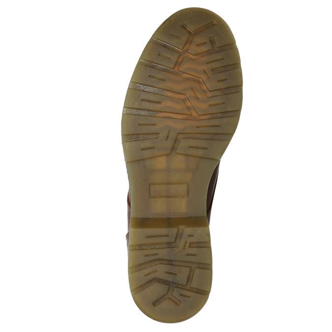 Botki damskie zzamkami błyskawicznymi bata, brązowy, 596-3681 - 17