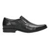 Skórzane loafersy męskie bata, czarny, 814-6623 - 15