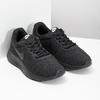 Czarne trampki damskie wsportowym stylu nike, czarny, 509-0157 - 26