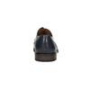 Granatowe skórzane półbuty męskie bata, niebieski, 826-9914 - 17