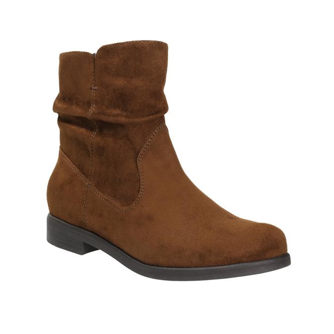 Botki damskie bata, brązowy, 599-3614 - 13