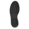 Skórzane obuwie za kostkę bata, szary, 896-2663 - 19