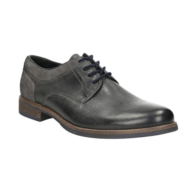 Nieformalne półbuty męskie bata, szary, 826-2610 - 13