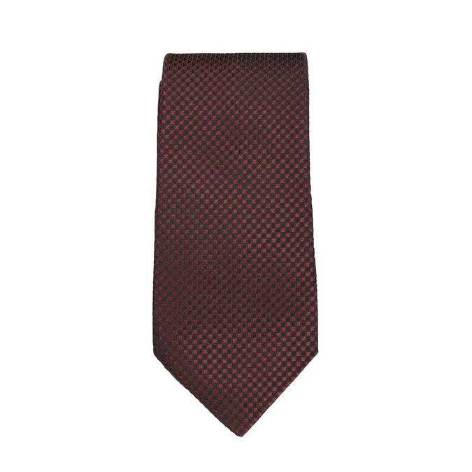 Komplet krawatu, poszetki ispinek do mankietów bata, czerwony, 999-5293 - 26