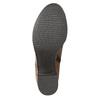 Botki na stabilnych obcasach bata, brązowy, 694-4642 - 19