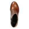 Botki na stabilnych obcasach bata, brązowy, 694-4642 - 26