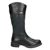 Kozaki dziecięce zociepliną bata, czarny, 394-6195 - 15