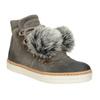 Zimowe sznurowane buty damskie weinbrenner, szary, 596-2674 - 13