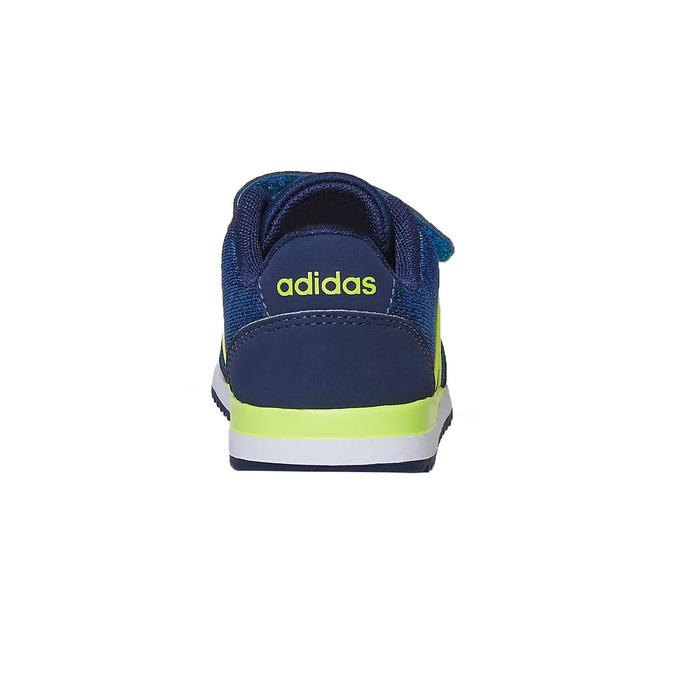 Trampki dziecięce na rzepy adidas, niebieski, 109-9157 - 17