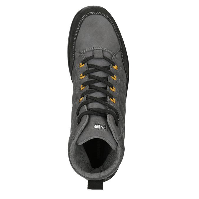 Turystyczne buty męskie skórzane weinbrenner, szary, 846-2647 - 15