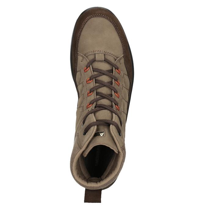Skórzane obuwie męskie weinbrenner, brązowy, 846-4647 - 15