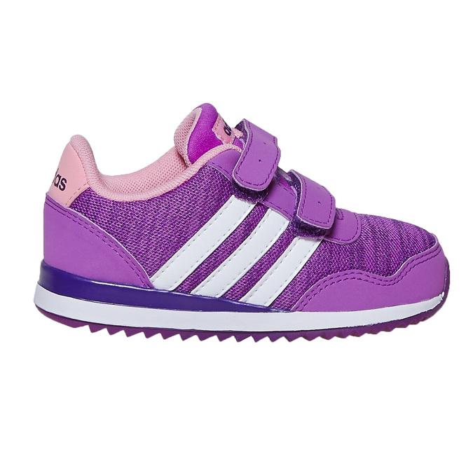 Fioletowe trampki dziecięce adidas, fioletowy, 109-5157 - 15