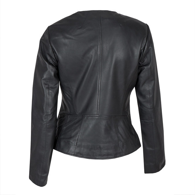 Skórzana kurtka damska bata, czarny, 974-6177 - 26