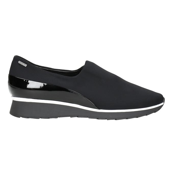 Nieformalne loafersy damskie hogl, czarny, 619-6038 - 26