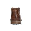 Skórzane buty męskie za kostkę bugatti, brązowy, 826-3005 - 16