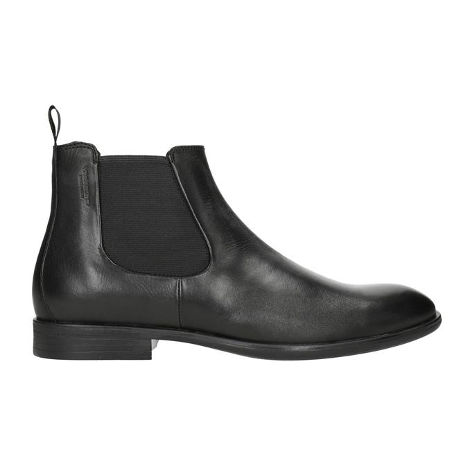Skórzane buty męskie typu Chelsea vagabond, czarny, 814-6024 - 26