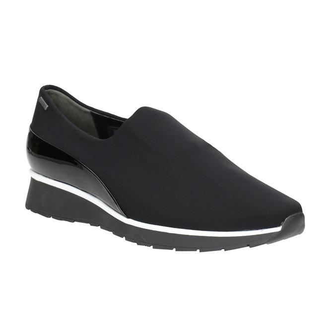 Nieformalne loafersy damskie hogl, czarny, 619-6038 - 13