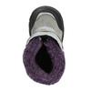 Dziewczęce obuwie zimowe z futerkiem bubblegummer, szary, 193-2601 - 26