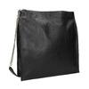 Czarna skórzana torba złańcuszkiem vagabond, czarny, 964-6087 - 13