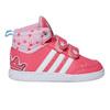 Trampki dziewczęce za kostkę adidas, różowy, 101-5292 - 15