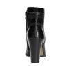 Skórzane botki damskie bata, czarny, 794-6650 - 17