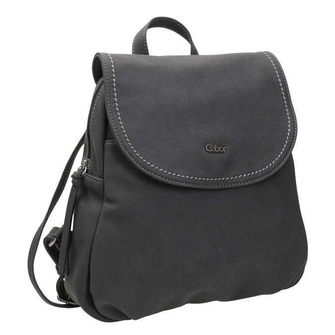 Miejski plecak damski gabor-bags, czarny, 961-6025 - 13