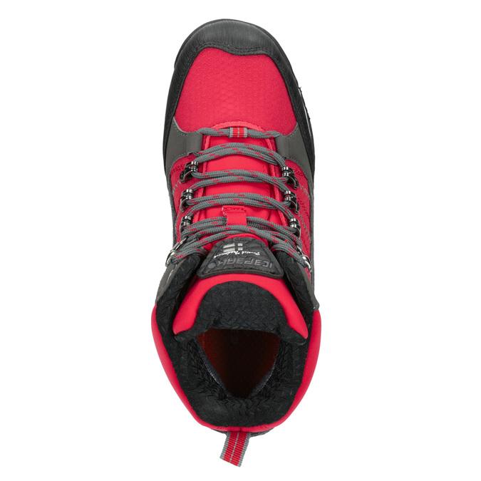 Zimowe buty dziecięce wstylu outdoor, czerwony, 399-5016 - 15