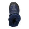 Zimowe buty dziewczęce na rzepy mini-b, niebieski, 299-9613 - 26