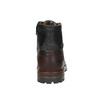 Męskie buty za kostkę bata, czarny, 896-6665 - 17