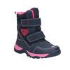 Zimowe buty dziewczęce na rzepy mini-b, niebieski, 491-5653 - 13