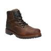 Skórzane obuwie męskie na grubej podeszwie bata, brązowy, 896-4665 - 13