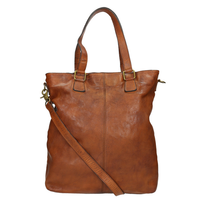 Skórzana torebka damska bata, brązowy, 964-3245 - 16