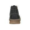 Skórzane zimowe buty męskie weinbrenner, czarny, 896-6107 - 16