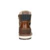 Skórzane zimowe buty męskie bata, brązowy, 896-3666 - 17