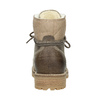 Skórzane buty zimowe zfuterkiem weinbrenner, brązowy, 594-2491 - 16