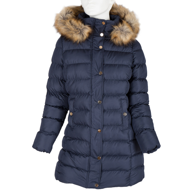 Zimowa kurtka damska zfuterkiem bata, niebieski, 979-9134 - 13
