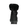 Buty damskie zimowe zfuterkiem, czarny, 696-6623 - 17